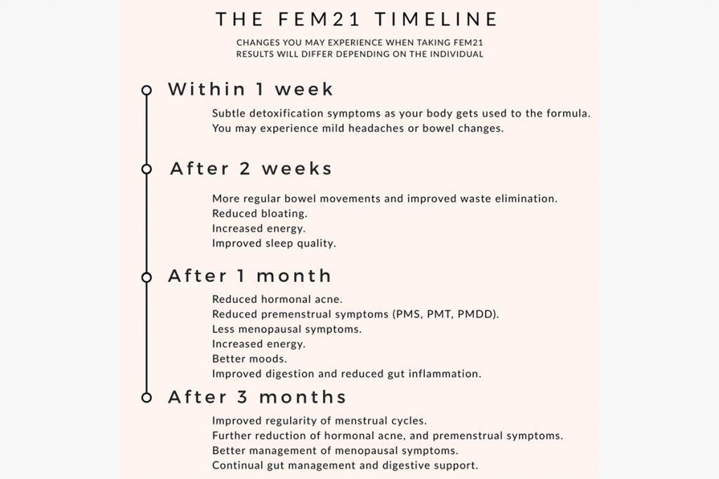 The Fem21 Timeline