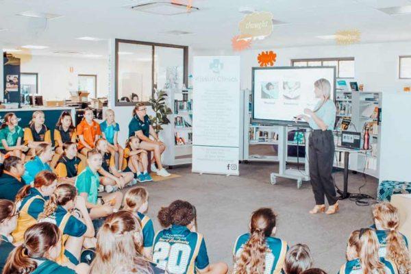 Health Talks At Local School A Success